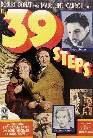 39 საფეხური / The 39 Steps