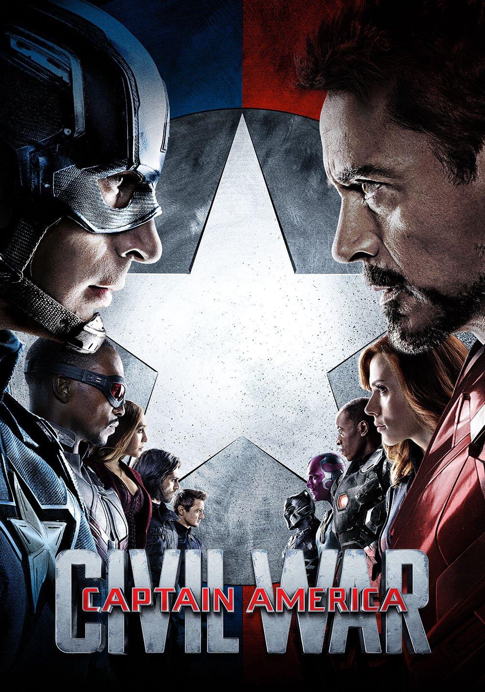 კაპიტანი ამერიკა: სამოქალაქო ომი / Captain America: Civil War