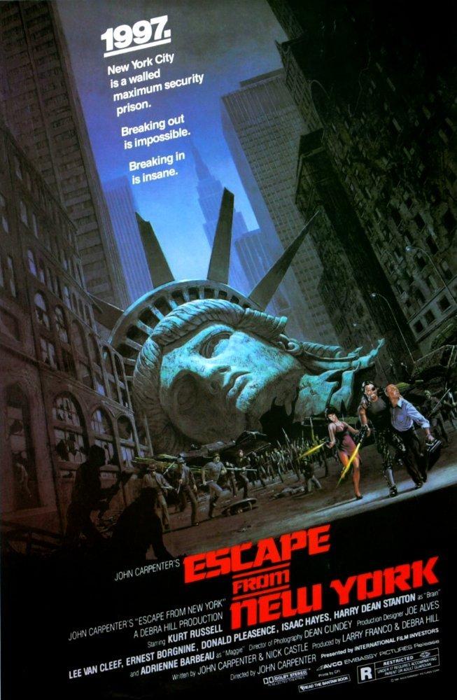 ნიუ იორკიდან გაქცევა / Escape from New York