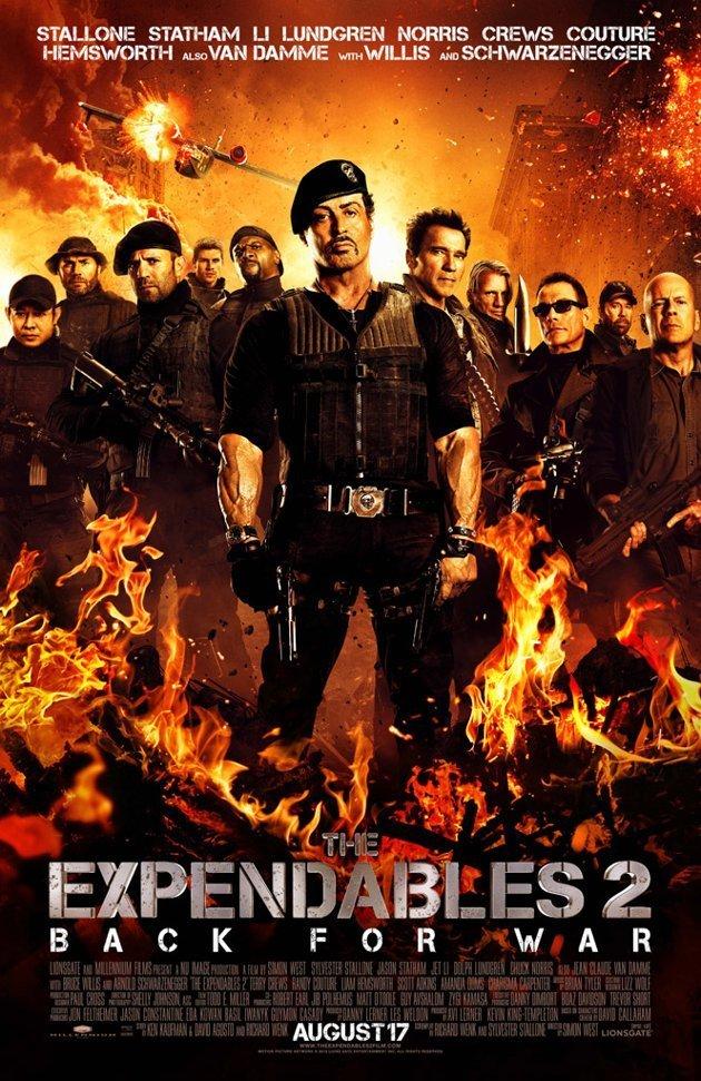 შეუჩერებელნი 2 / The Expendables 2
