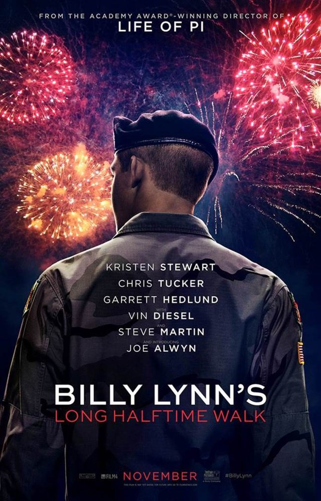 ბილი ლინის გრძელი გასეირნება ნახევარტაიმებს შორის / Billy Lynn's Long Halftime Walk