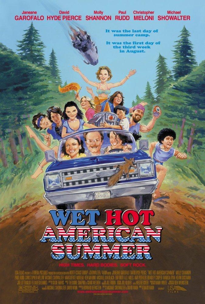 უყურეთ ცხელი ამერიკული ზაფხული / Wet Hot American Summer ქართულად