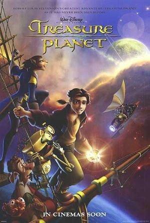 განძის პლანეტა Treasure Planet