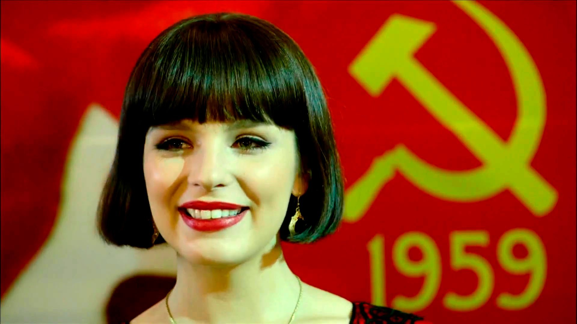 Красная королева постер