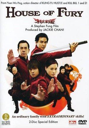 მძვინვარების სახლი / House of Fury (Jing Mo Gaa Ting)