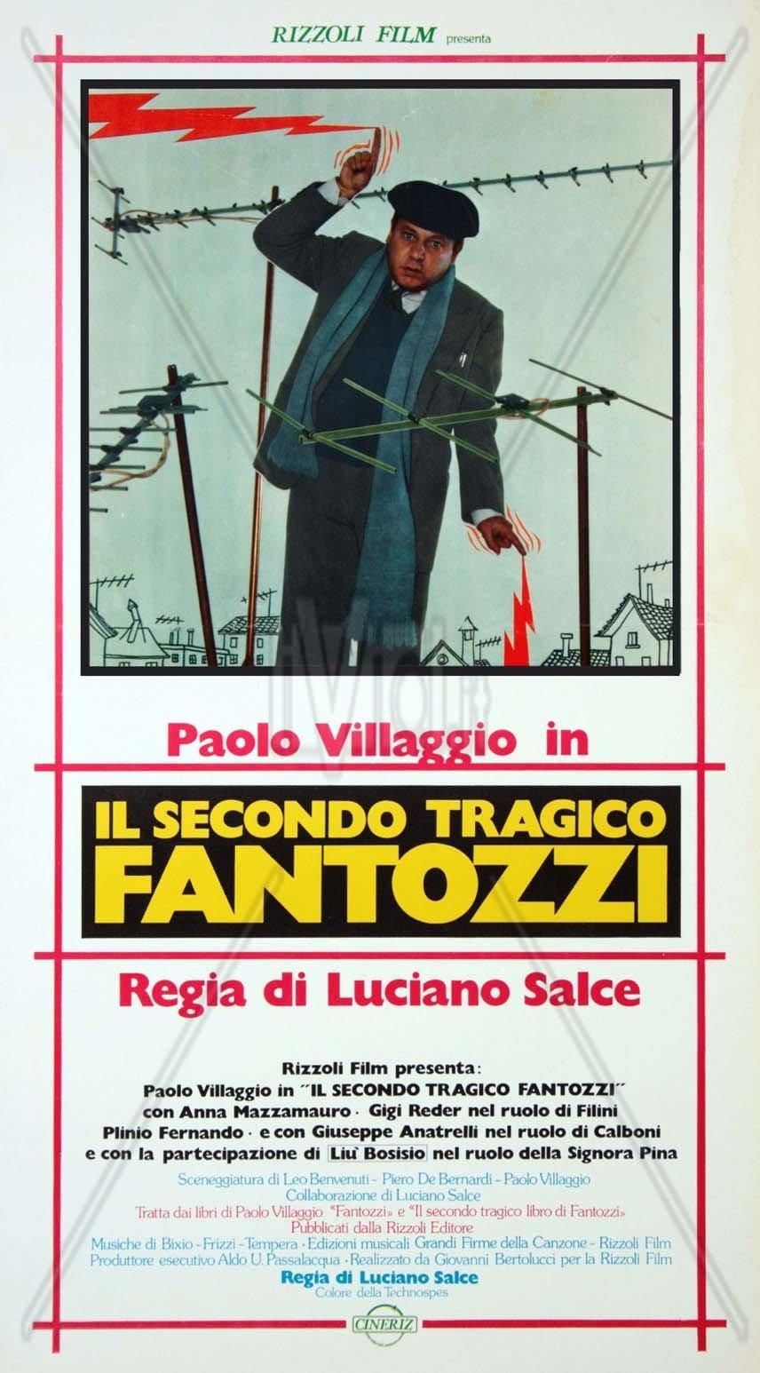 ფანტოცი მეორე ტრაგიკული / Il secondo tragico Fantozzi