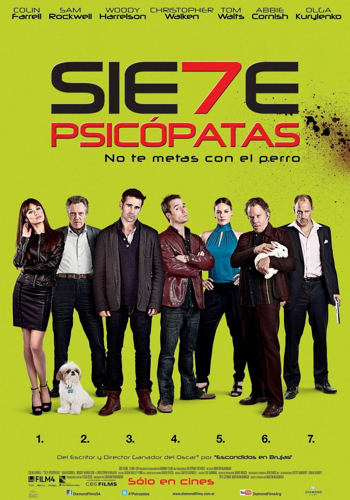 შვიდი ფსიქოპათი / Seven Psychopaths