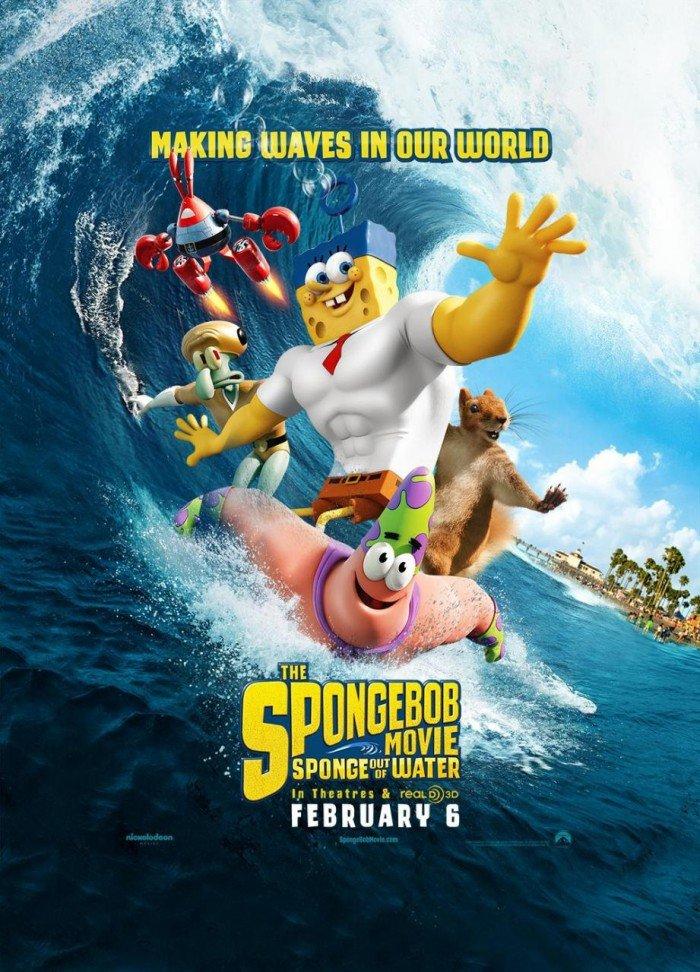 სპანჯბობი / The SpongeBob Movie: Sponge Out of Water