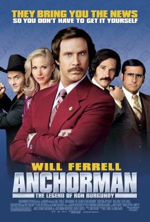 ტელეწამყვანი: ლეგენდა რონ ბურგუნდიზე / Anchorman: The Legend of Ron Burgundy