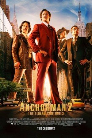 ტელეწამყვანი 2: ლეგენდა გრძელდება / Anchorman 2: The Legend Continues