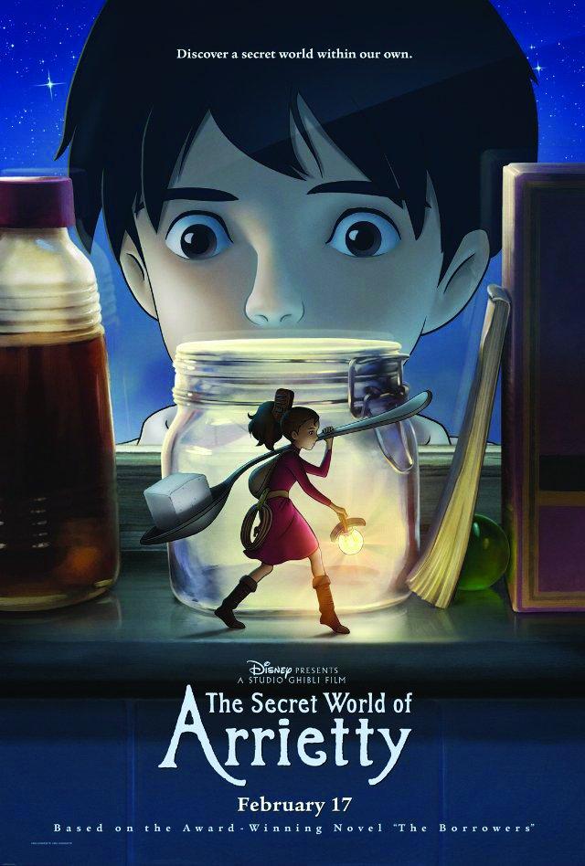 არიეტის საიდუმლო სამყარო The Secret World of Arrietty