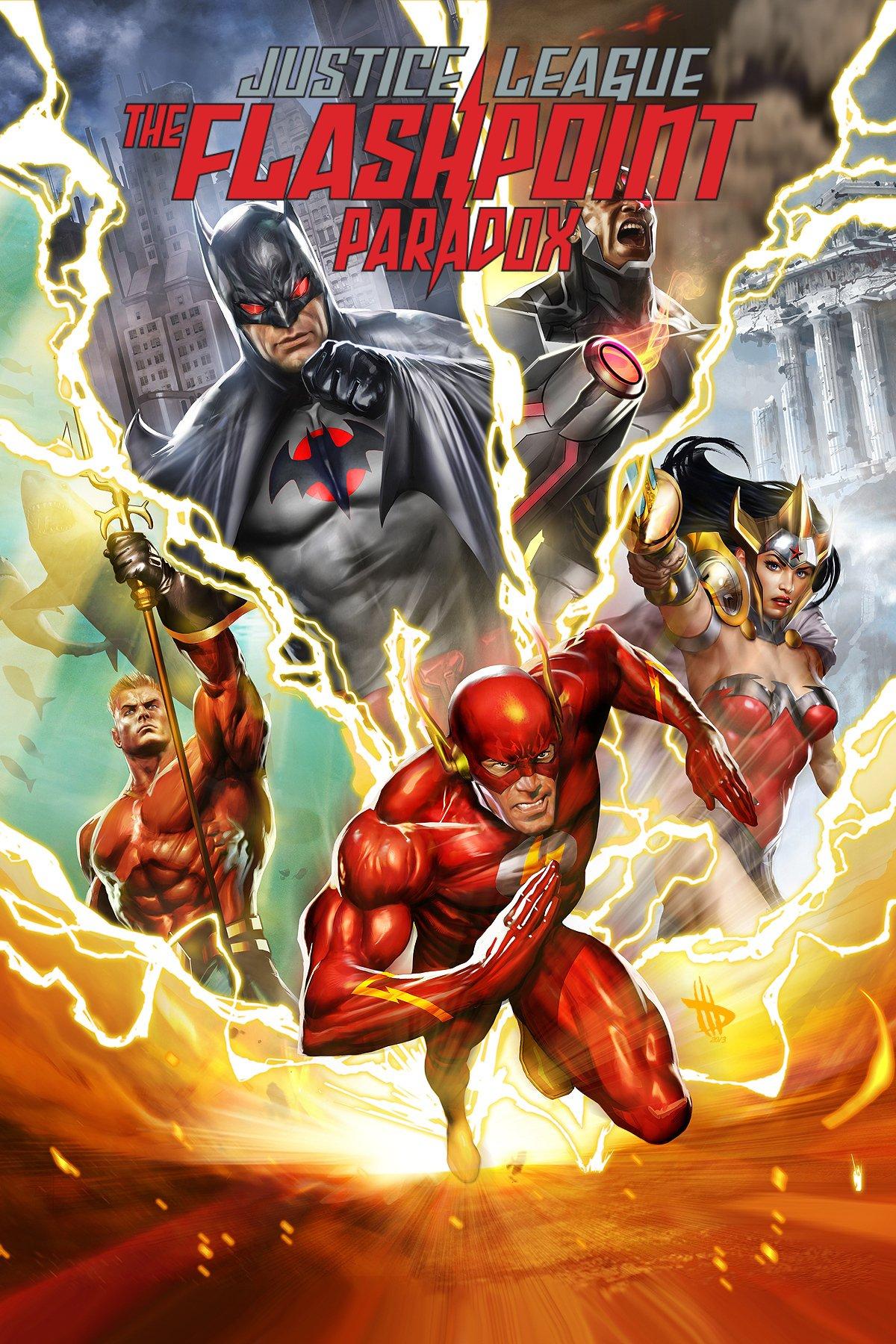 სამართლიანობის ლიგა: კონფლიქტის პარადოქსი / Justice League: The Flashpoint Paradox