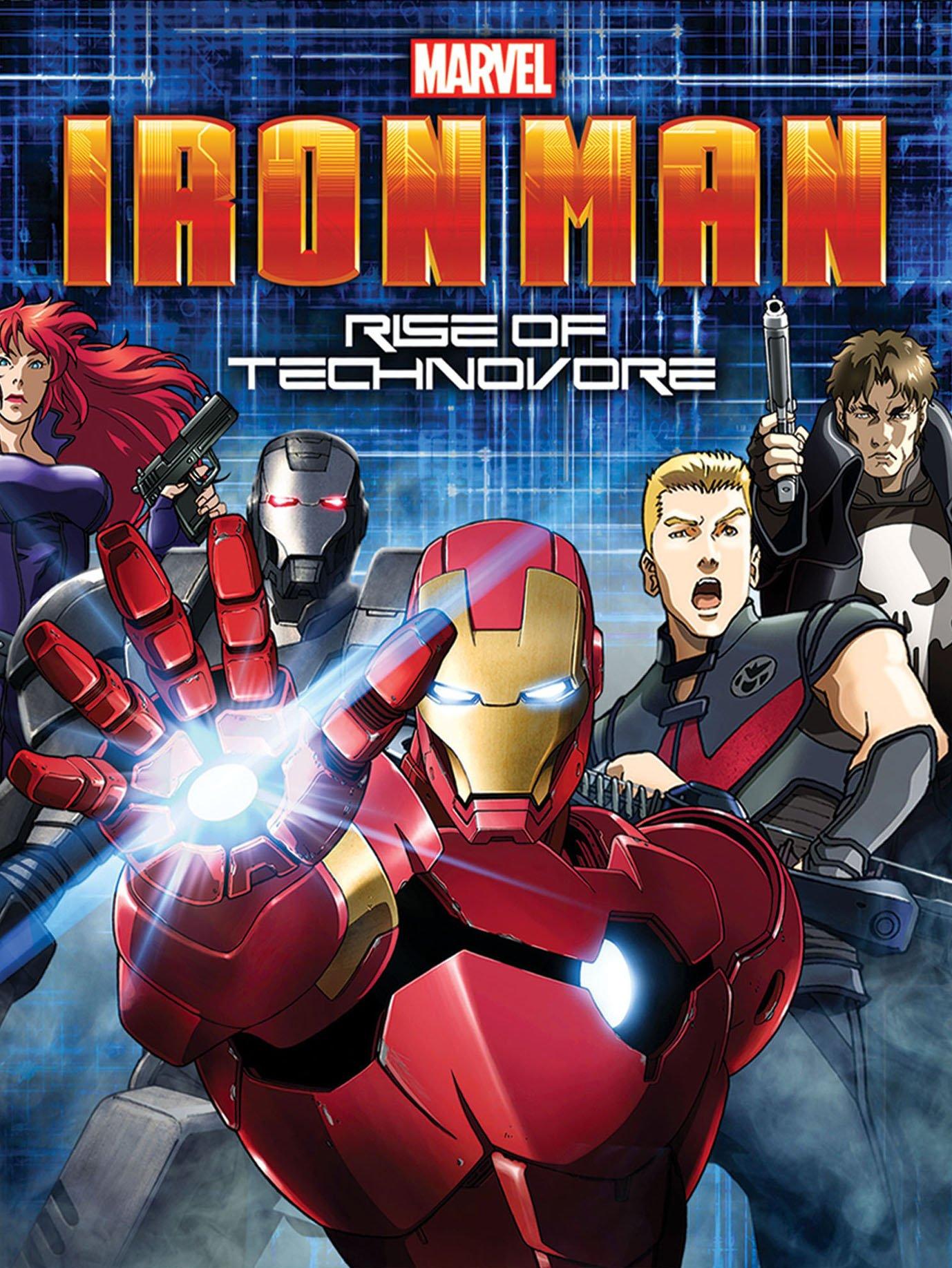 რკინის კაცი: ტექნოვორის აღზევება / Iron Man: Rise of Technovore