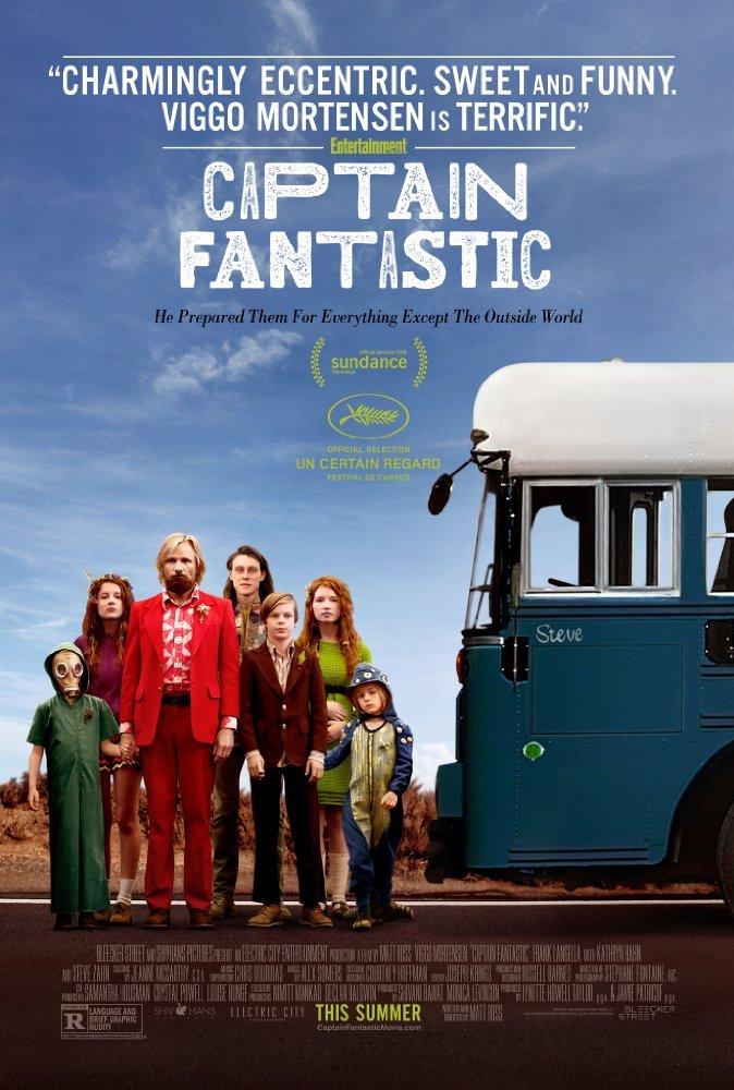 კაპიტანი ფანტასტიკა / Captain Fantastic