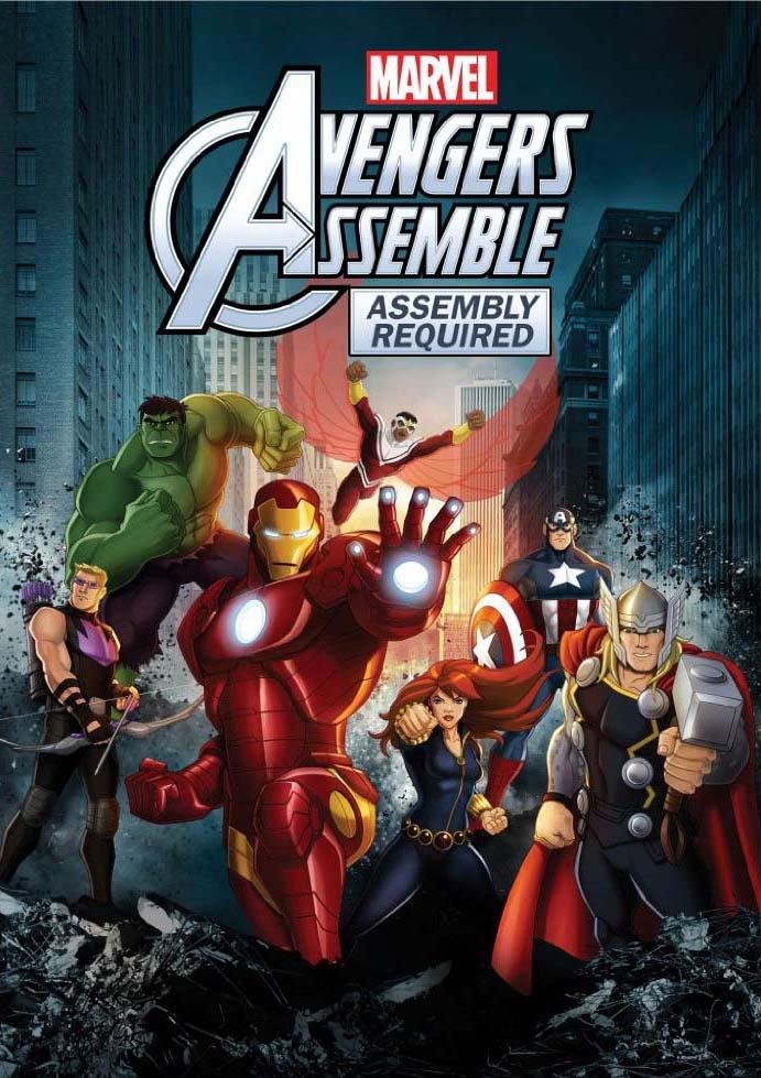 შურისმაძიებლები სეზონი 2 Avengers Assemble Season 2