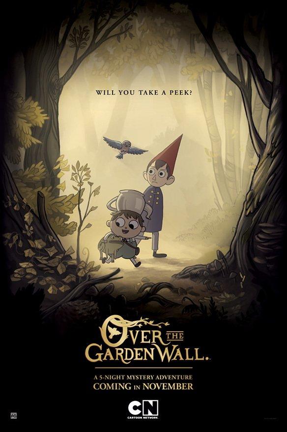 ღობის მიღმა სეზონი 1 Over the Garden Wall Season 1