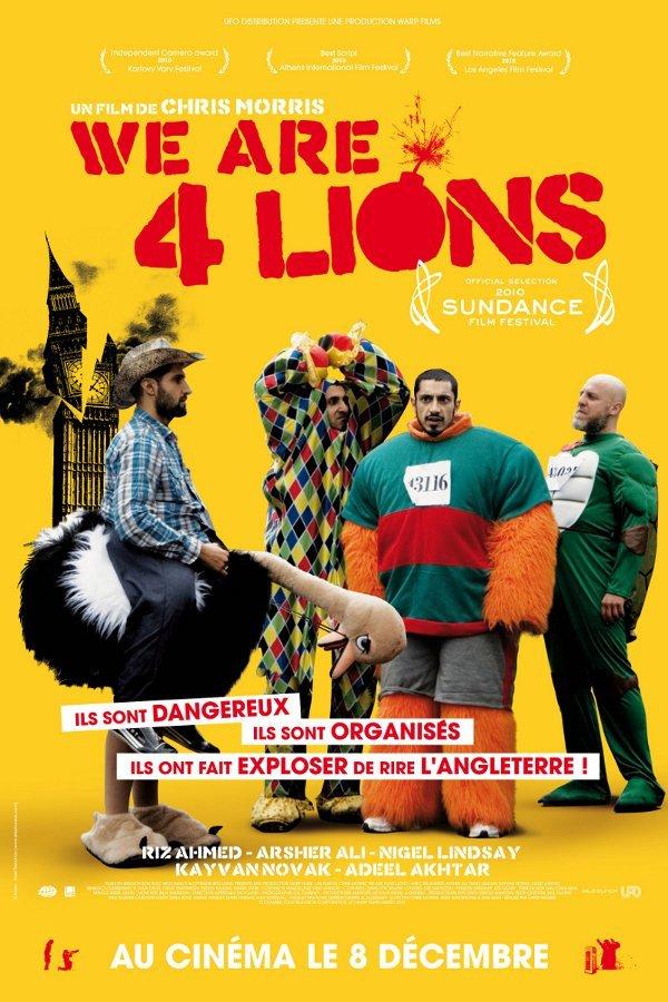 ოთხი ლომი / Four Lions