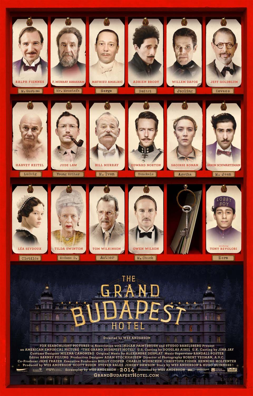 სასტუმრო გრანდ ბუდაპეშტი / The Grand Budapest Hotel