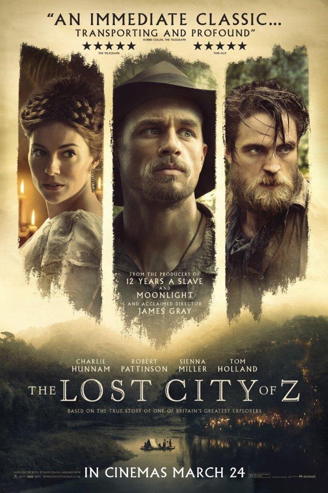 დაკარგული ქალაქი Z The Lost City of Z