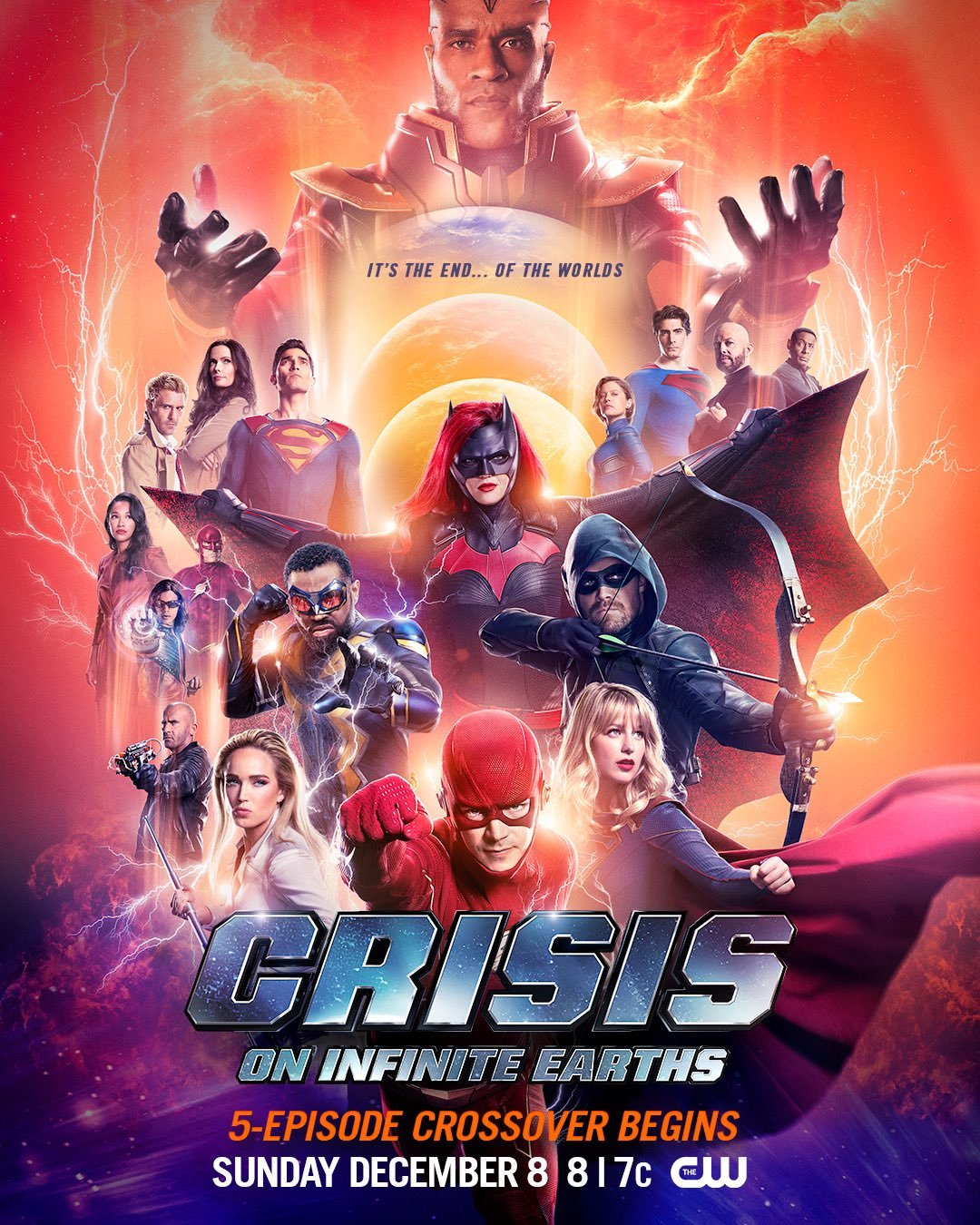 უსასრულო სამყაროების კრიზისი სეზონი 1 / Crisis on Infinite Earths Season 1
