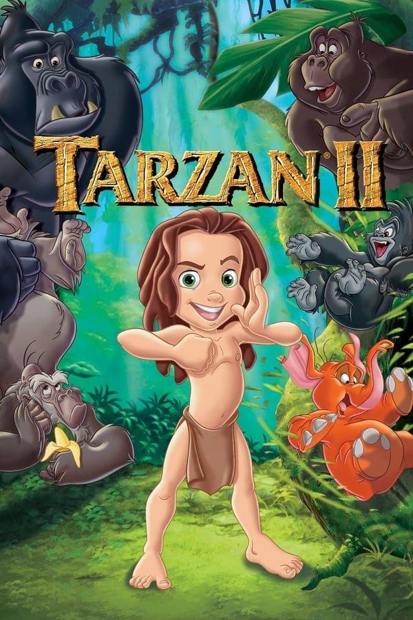 ტარზანი 2: ვინ ვარ მე? / Tarzan 2: Who Am I? (Tarzan II)