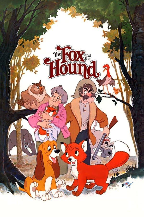 მელია და მონადირე ძაღლი / The Fox and the Hound