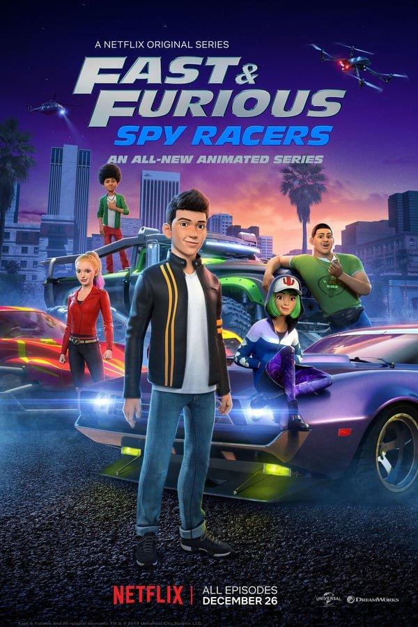 ფორსაჟი სეზონი 1 Fast & Furious Spy Racers Season 1