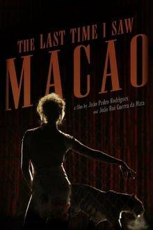 ბოლოს, როდესაც მაკაო ვნახე The Last Time I Saw Macao (A Última Vez Que Vi Macau)